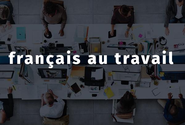 Recul Du Francais Au Travail L Aut Journal