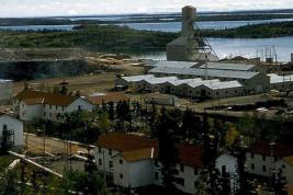 Photo : La mine d'uranium de Gunnar Mining, en Saskatchewan